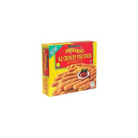 Shindlers Fish Sticks Kosher Krunch - 24 Oz