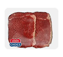 Meat Counter Beef USDA Choice Bottom Round Steak Tenderized - 1 LB