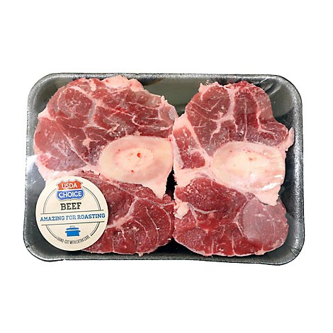 Meat Counter Beef USDA Choice Shank Cross Cut - 1 LB