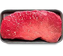 Meat Counter Beef USDA Choice Top Round Steak - 1 LB