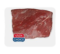 Meat Counter Beef USDA Choice Roast Brisket Flat Cut Boneless - 3.50 LB