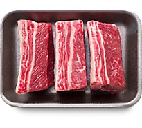 Meat Counter Beef USDA Choice Ribs Chuck Short Ribs - 2.00 LB