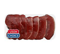 Meat Counter Beef USDA Choice Chuck Strips Country Style Boneless - 1.50 LB