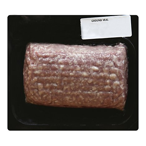 Veal Ground Case Ready Fresh - 1 LB