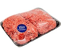 Meat Counter Beef Ground Beef 80% Lean 20% Fat - 1.25 LB