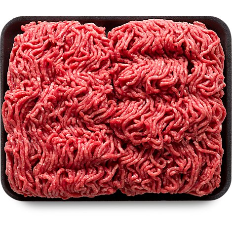 Ground Beef 80% Lean 20% Fat Value Pack - 3.50 Lbs.