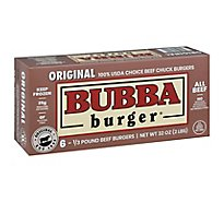 Bubba Burger Original 6 Count Frozen - 32 Oz