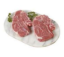 Open Nature Lamb Shoulder Blade Chops Case Ready - 1 LB