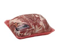 Meat Counter Pork Roast Shoulder Blade Bone In - 6.00 LB