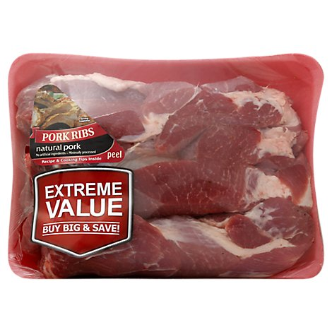 Meat Counter Pork Shoulder Country Style Ribs Value Pack - 4.50 LB