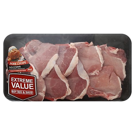 Meat Counter Pork Chop Loin Chops Assorted Value Pack - 4.00 LB
