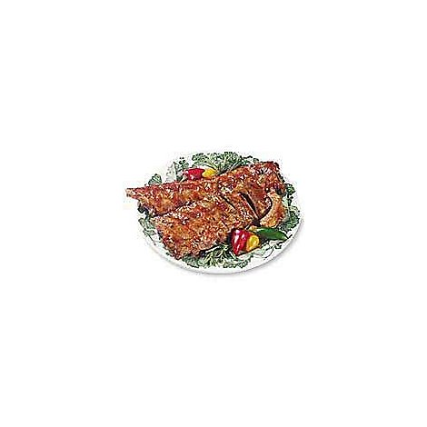Meat Counter Pork Ribs Loin Back Ribs Fresh - 2.00 LB