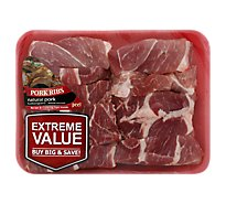 Meat Counter Pork Shoulder Country Style Ribs Boneless Value Pack - 3.50 LB