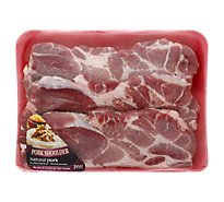 Meat Counter Pork Shoulder Blade Steak Boneless - 1 LB