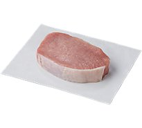 Pork Chop Loin Top Loin Chops Boneless 1 Count - 0.50 LB