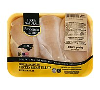 Sanderson Chicken Breasts Boneless Skinless - 1.50 LB