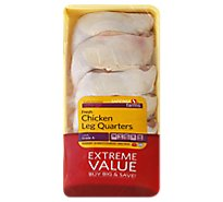 Signature Farms Chicken Leg Quarters Value Pack - 4.50 LB