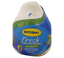 Butterball Turkey Whole Fresh All Natural - Weight Between 16-20 Lb