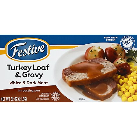 Jennie-O Turkey Store Turkey Roast Turkey & Gravy In Roasting Pan White & Dark Meat - 2 Lb