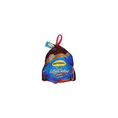 Butterball Whole Turkey Smoked Fully Cooked Frozen - 10 Lb