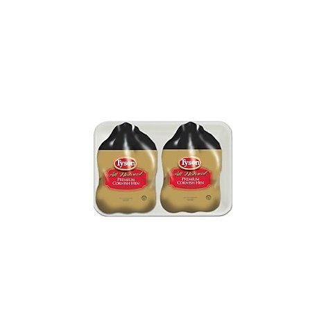 Tyson Cornish Game Hens Twin Pack Frozen - 3.00 LB