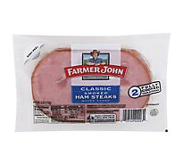 Farmer John Ham Steak Smoked Classic - 6 Oz
