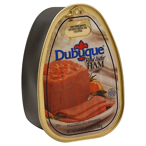 Dubuque Royal Buffet Ham Canned - 3 Lb