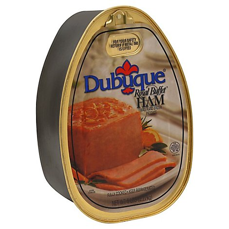 Dubuque Royal Buffet Ham Can - 5 Lb