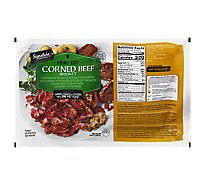 Signature SELECT Beef Corned Beef Brisket Point Cut - 1 Count