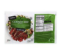 Signature SELECT Beef Corned Beef Brisket Flat Cut - 3.50 Lb