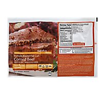 Signature SELECT Beef Corned Beef Bottom Round Flat Cut - 3.25 LB