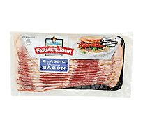 Farmer John Bacon Smoked Sliced - 16 Oz