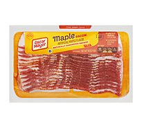 Oscar Mayer Bacon Hardwood Smoked Maple Flavor - 16 Oz