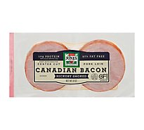 Jones Dairy Farm Bacon Canadian - 6 Oz