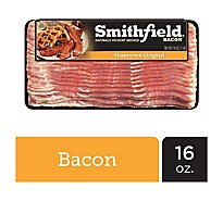 Smithfield Bacon Naturally Hickory Smoked - 16 Oz