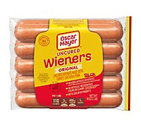 Oscar Mayar Classic Uncured Wieners Hot Dogs - 10 Count - 16 Oz.