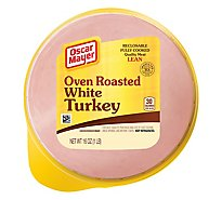 Oscar Mayer Cold Cuts White Turkey Over Roasted Lean - 16 Oz