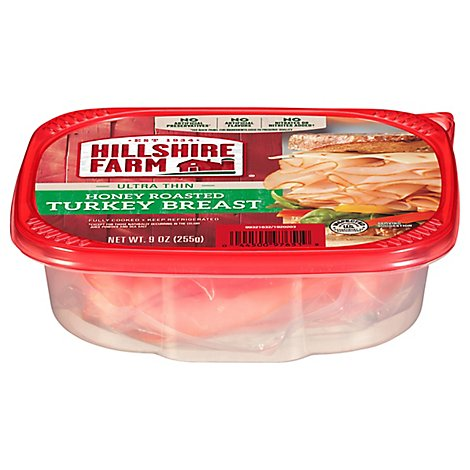 Hillshire Farm Ultra Thin Sliced Lunchmeat Honey Roasted Turkey Breast 9 Oz
