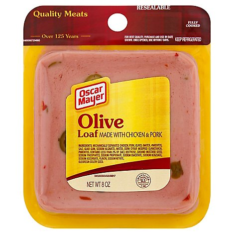 Oscar Mayer Loaf Olive Chicken & Pork - 8 Oz