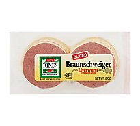 Jones Dairy Farm Braunschweiger Sliced - 8 Oz