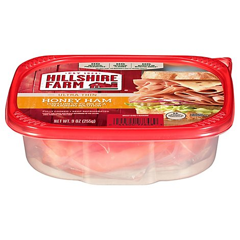 Hillshire Farm Ultra Thin Sliced Lunchmeat Honey Ham 9 Oz