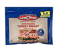 Land O Frost Premium Turkey Breast & White Turkey Lean Oven Roasted - 16 Oz