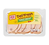 Oscar Mayer Deli Fresh Turkey Breast Mesquite Smoked - 8 Oz