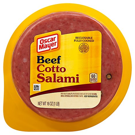 Oscar Mayer Salami Cotto Beef - 16 Oz
