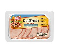 Oscar Mayer Deli Fresh Ham Honey Water Added - 9 Oz