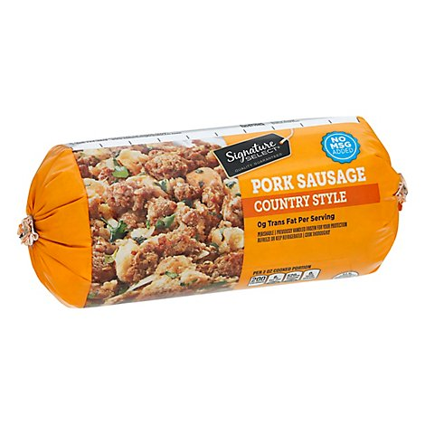 Signature SELECT Pork Sausage Roll Country Style - 16 Oz