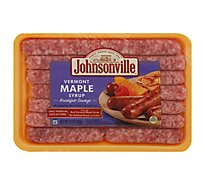 Johnsonville Breakfast Sausage Links Vermont Maple Syrup 14 Links - 12 Oz