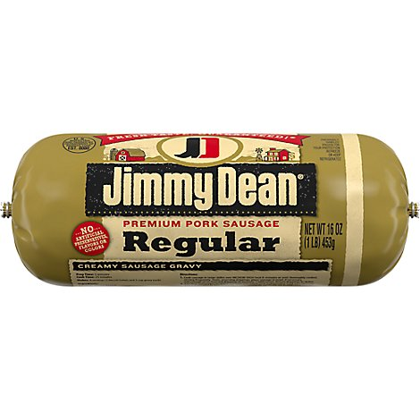 Jimmy Dean Pork Sausage Premium Regular - 16 Oz