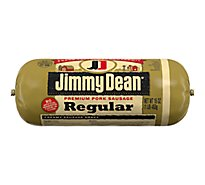 Jimmy Dean Premium Pork Regular Sausage Roll - 16 Oz