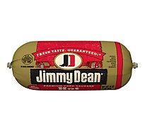 Jimmy Dean Premium Pork Hot Sausage Roll - 16 Oz